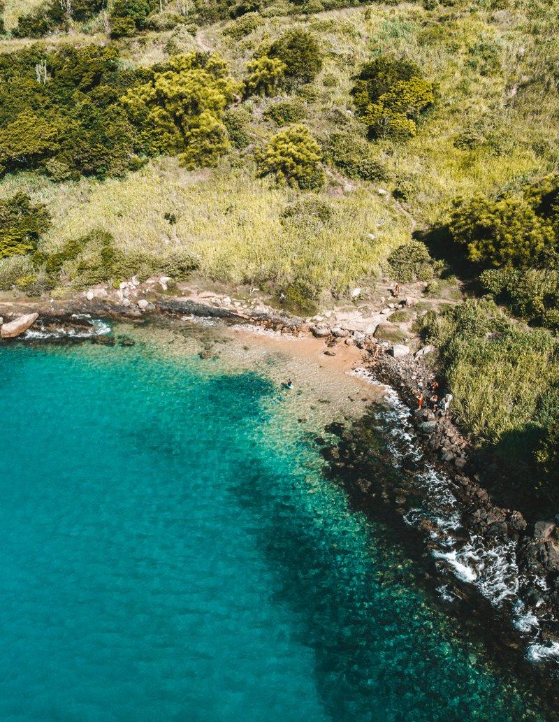 melhores praias de Arraial do Cabo: graçainha