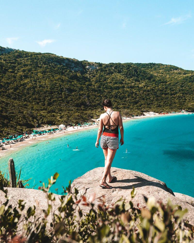 praias de Arraial do Cabo: mirante da Praia do Forno