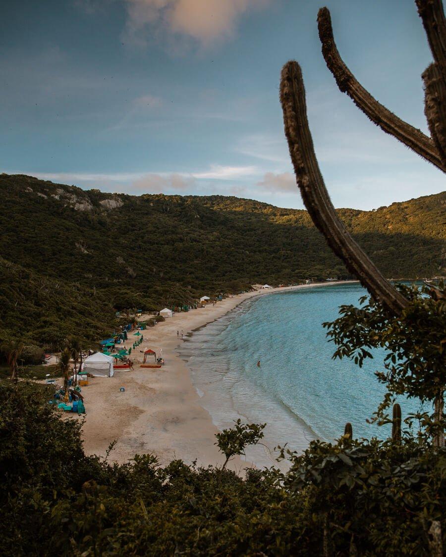 Fim de tarde na Praia do Forno