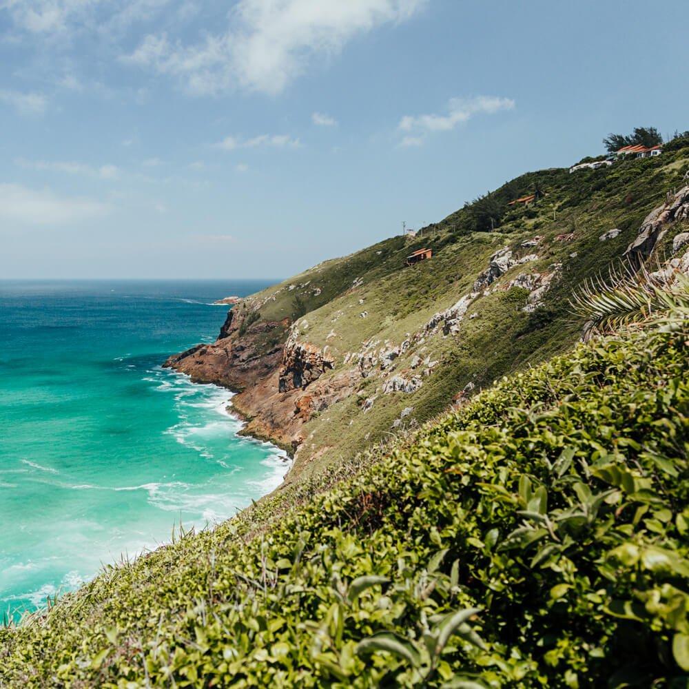 Praia Brava, Arraial do Cabo: Visual incrível na trilha