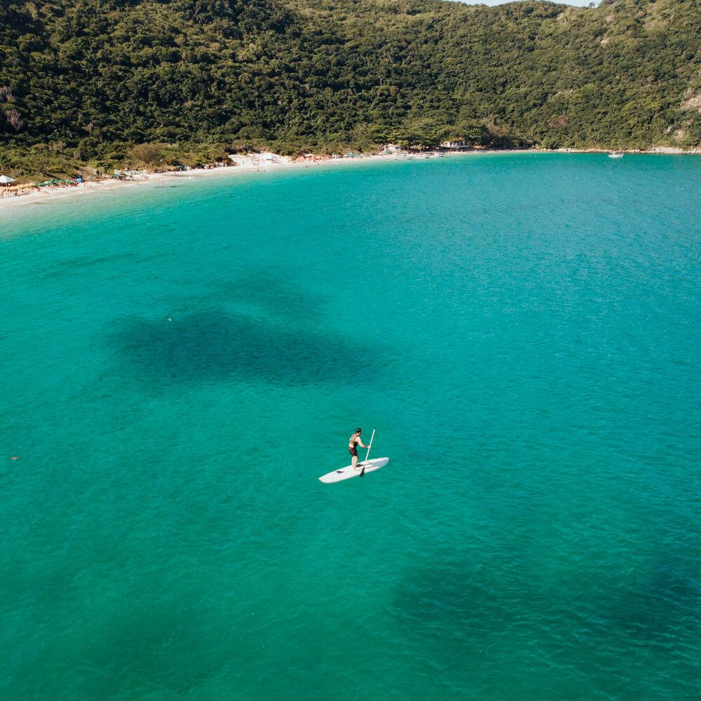 Praia do Forno, Arraial do Cabo - stand up