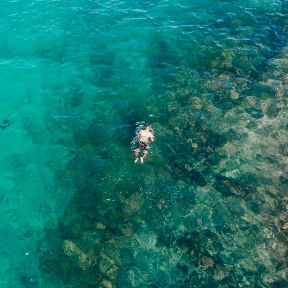 Praia do Forno, Arraial do Cabo - snorkel