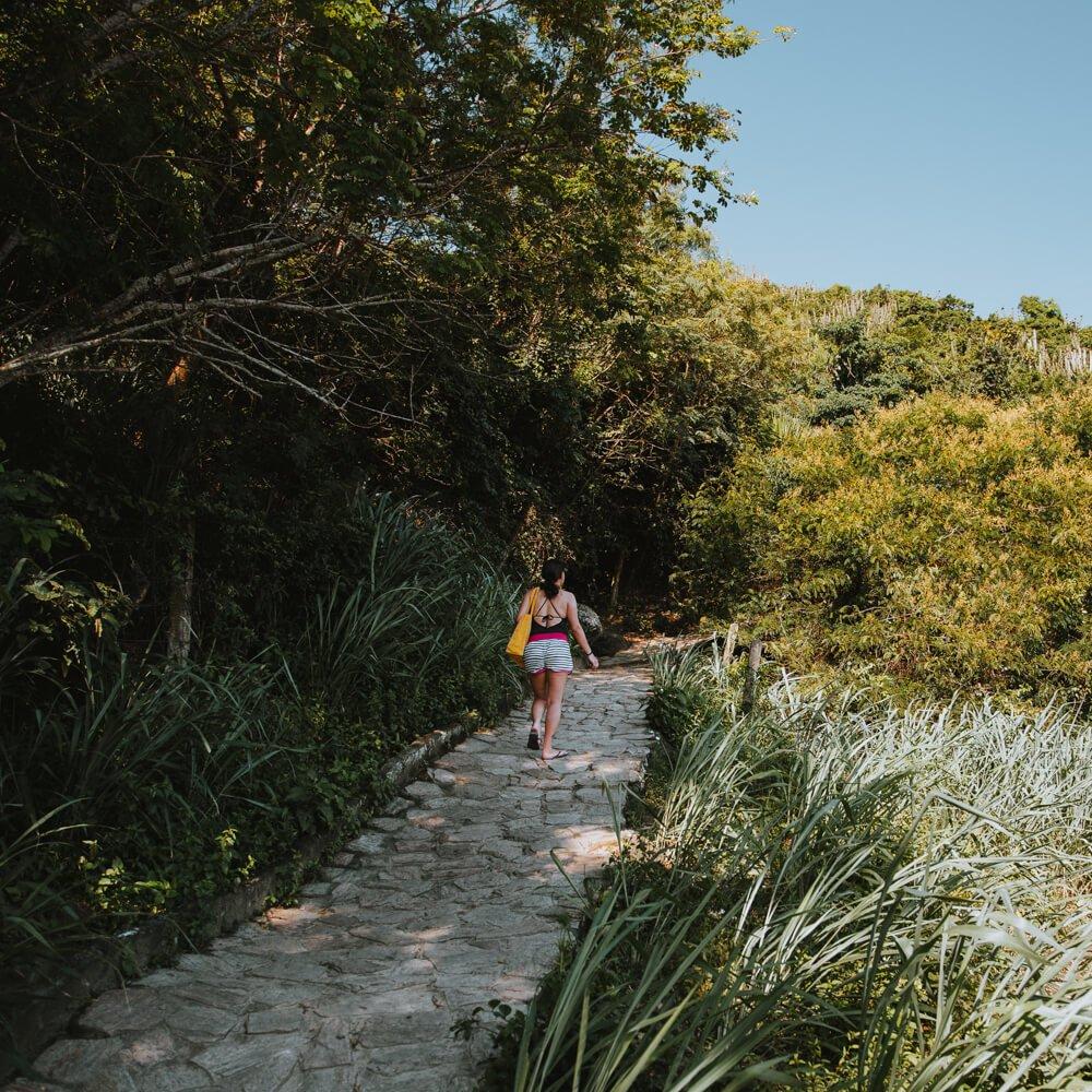 Praia do Forno, Arraial do Cabo - trilha