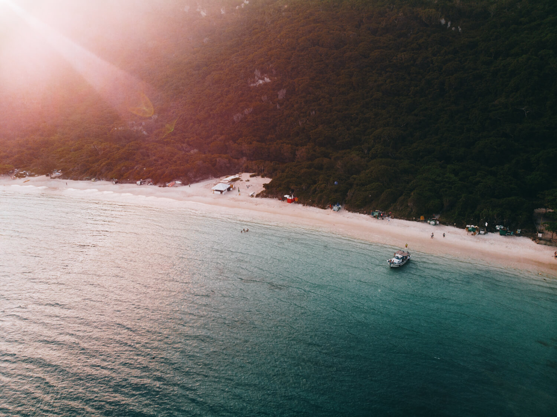 Final de tarde na Praia do Forno, Arraial do Cabo