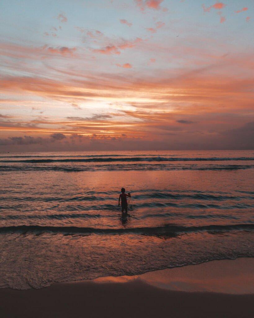 Por do sol na Praia Grande, Arraial do Cabo