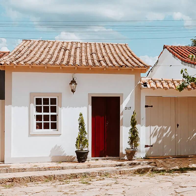 Airbnb Tiradentes MG - Casa Bemvinda - fachada Airbnb