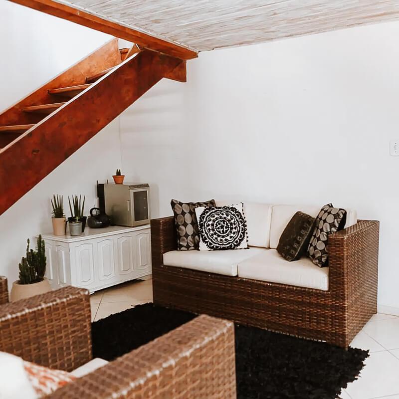 Airbnb Tiradentes MG - Casa Bemvinda - interior