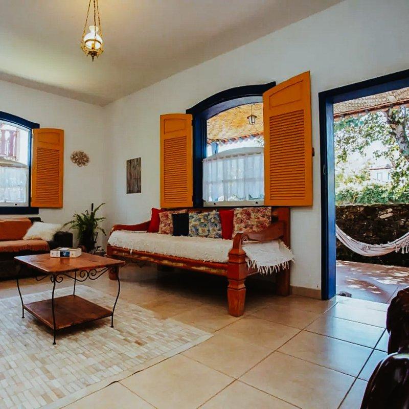 Airbnb em Tiradentes Minas Gerais - casa charmosa