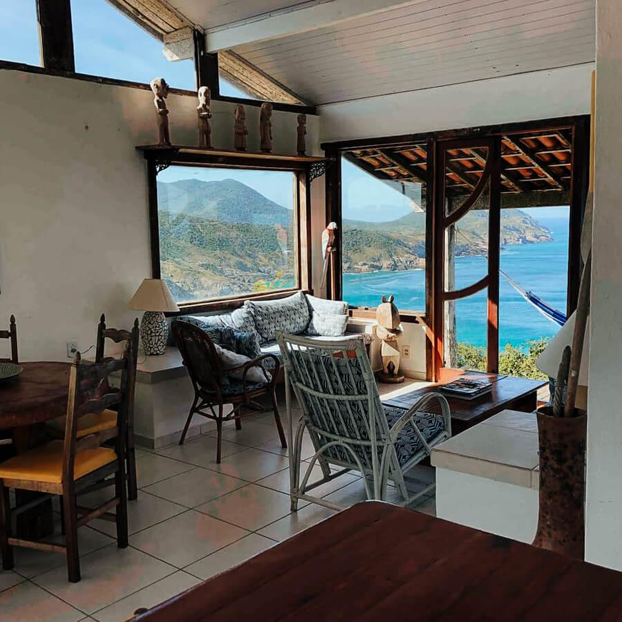 Airbnb em Arraial do Cabo: Exclusividade no pontal do Atalaia - interior