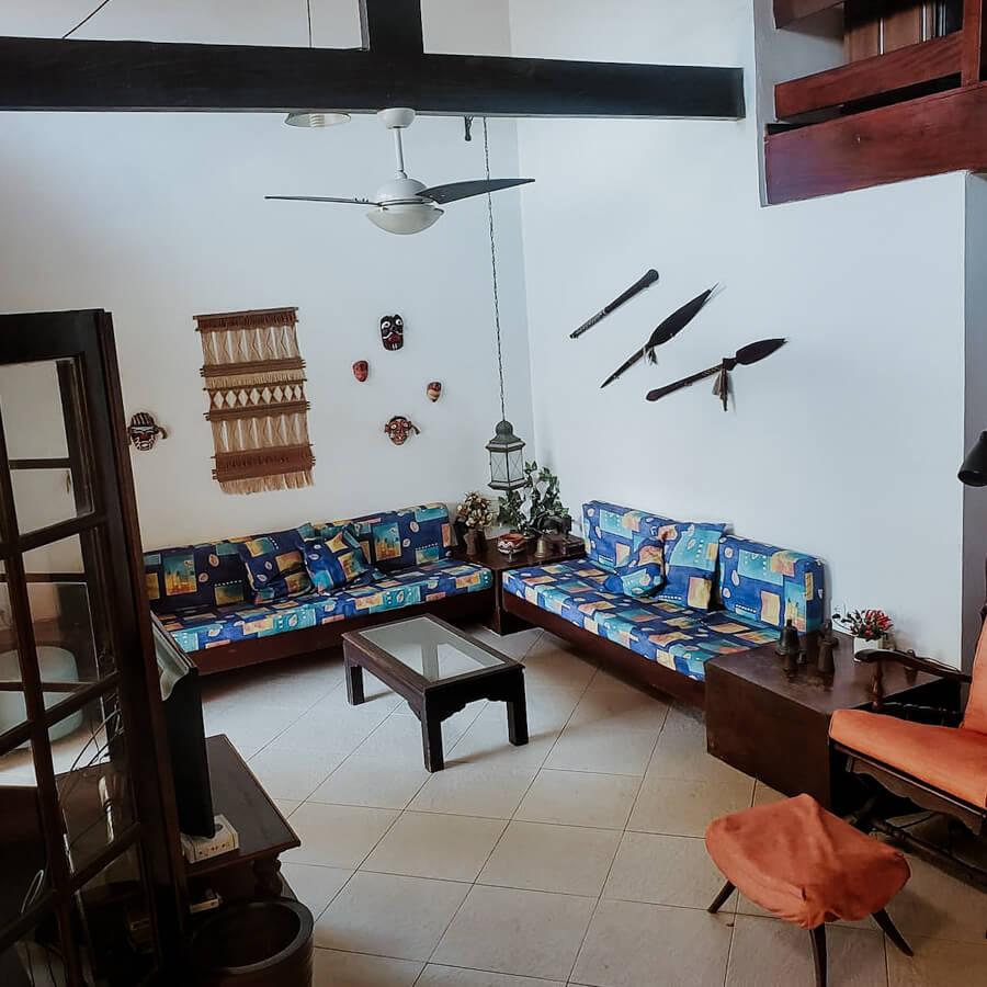 Airbnb - interior da casa