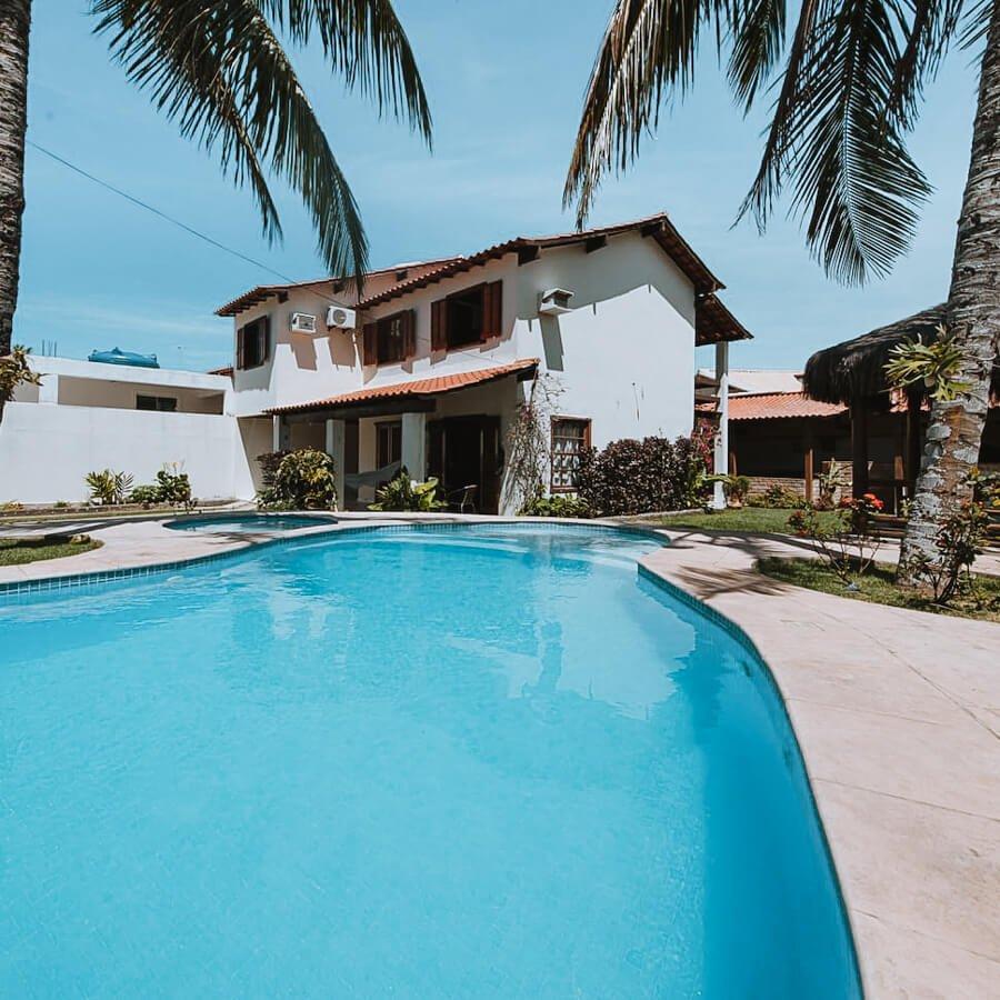 casa chain - piscina - airbnb arraial do cabo