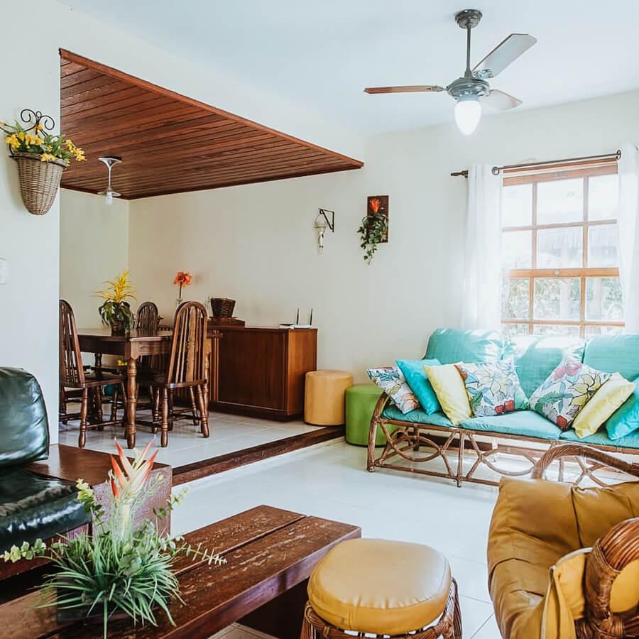 casa chain - airbnb arraial do cabo - interior da casa