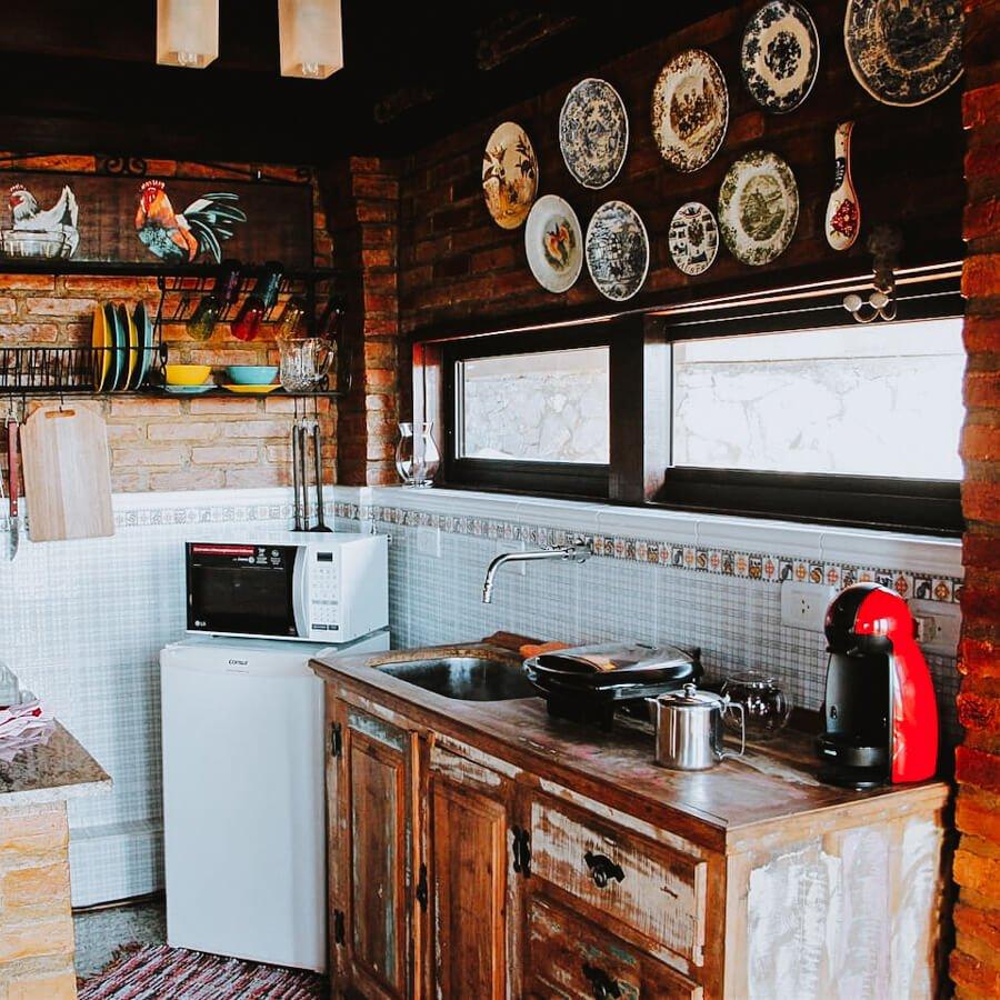cozinha toda equipada
