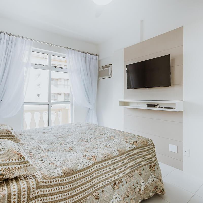 airbnb arraial do cabo - quarto do apartamento