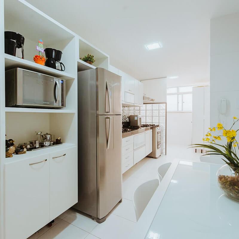 airbnb arraial do cabo - cozinha do apartamento