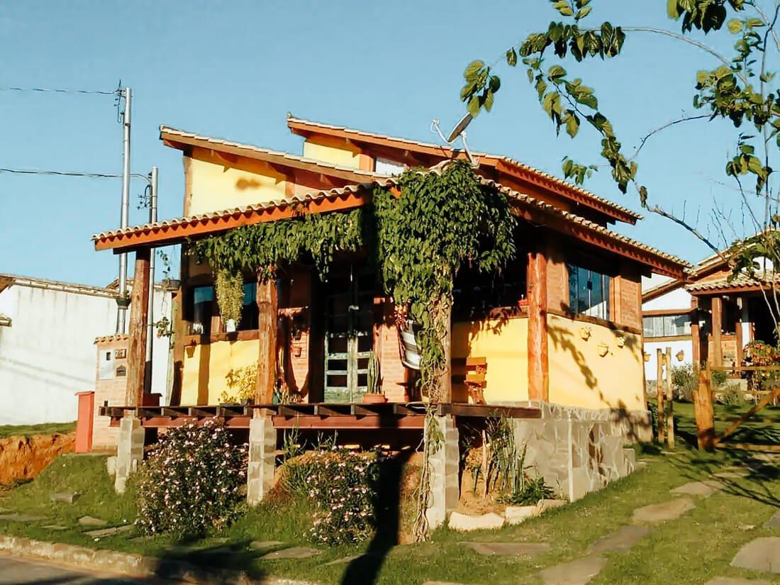 Casa Amarela em Carrancas