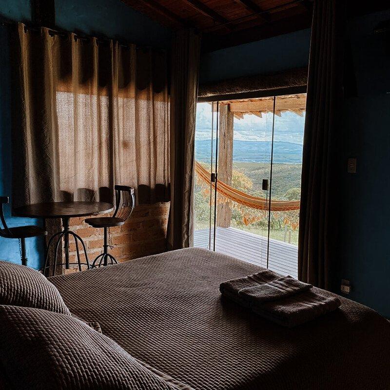 Chalé Vila Real - Airbnb em Carrancas
