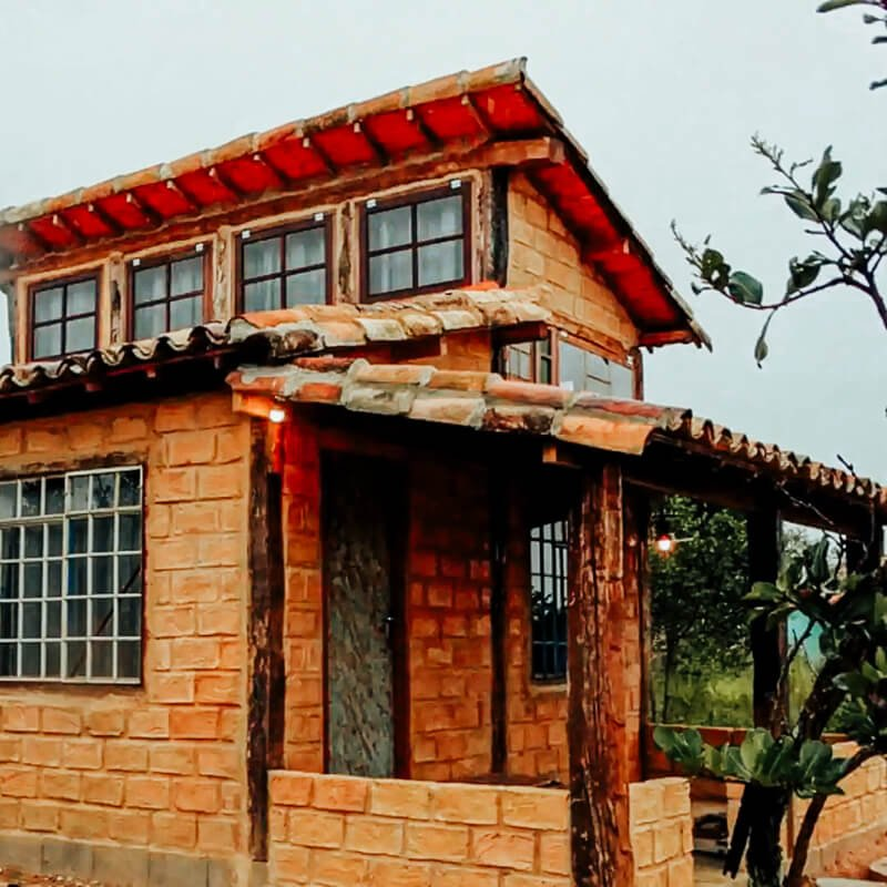 Chalé Cachoeira - Airbnb Carrancas