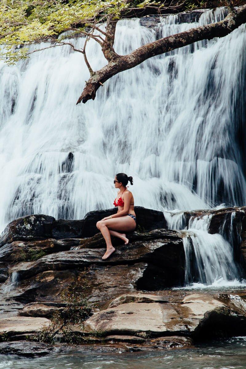 Carrancas MG - cachoeira da zilda