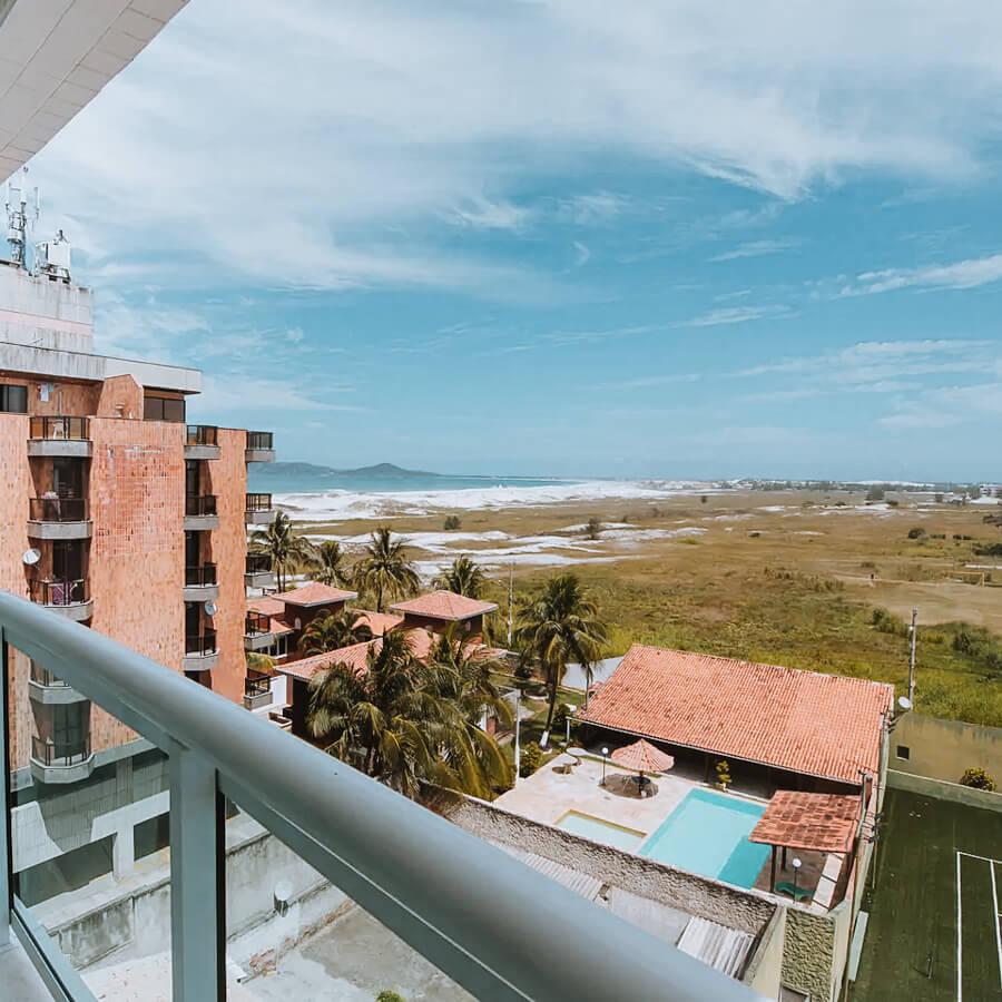 Flat Praia do Forte - cabo frio