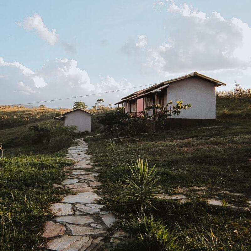 Cataguás Brasil - pousada Carrancas - chalés