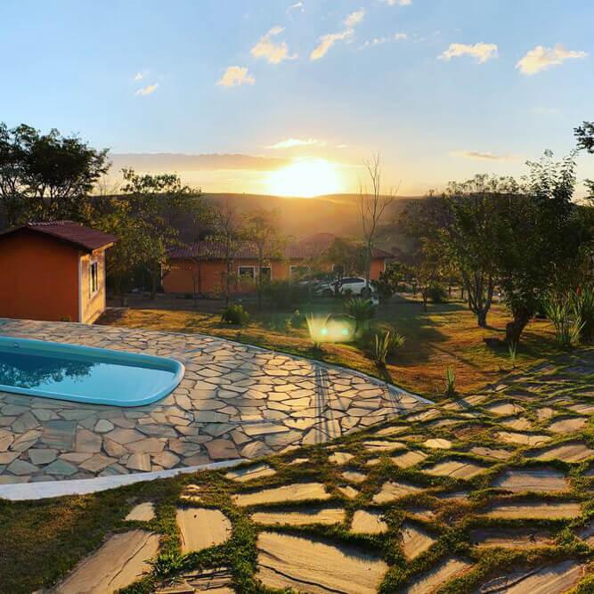 pousadas Carrancas - Eldorado das Gerais - piscina