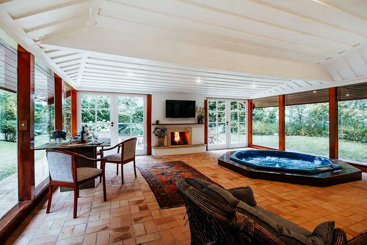 Airbnb Campos do Jordão - chalés araucárias