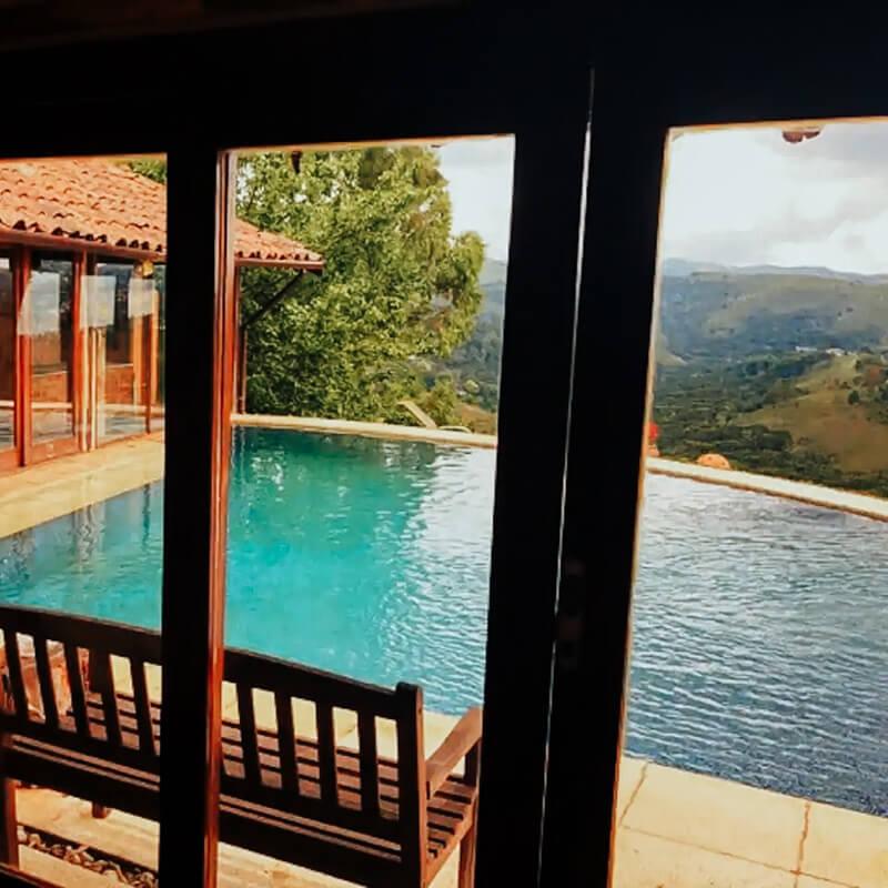 Airbnb Campos do Jordão - chalé vista privilegiada