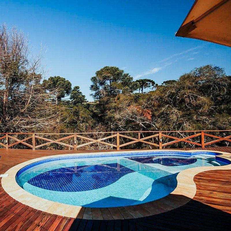 Airbnb Campos do Jordão casa com piscina