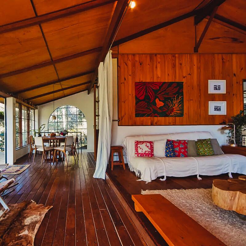Airbnb Campos do Jordão - refugio na montanha