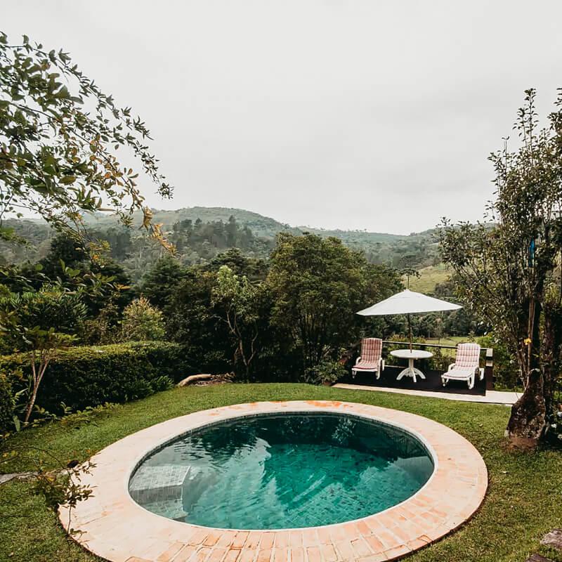Airbnb com piscina em Campos do Jordão