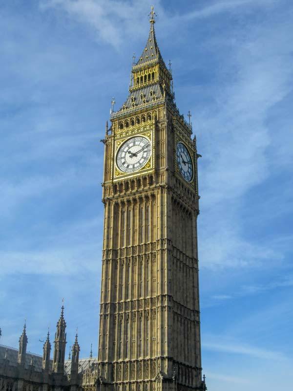 Famosa torre do Big Ben
