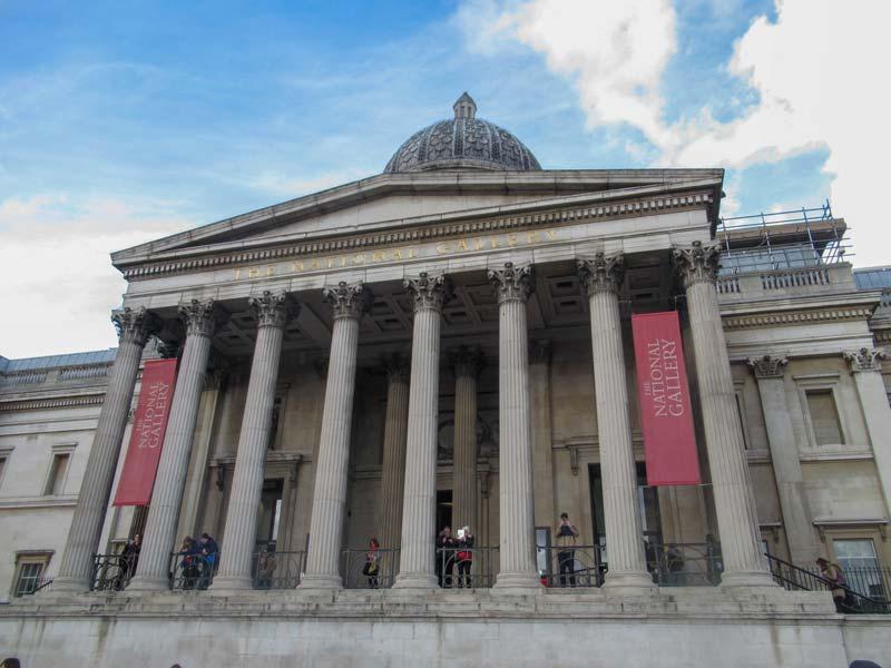 Galeria nacional em Londres