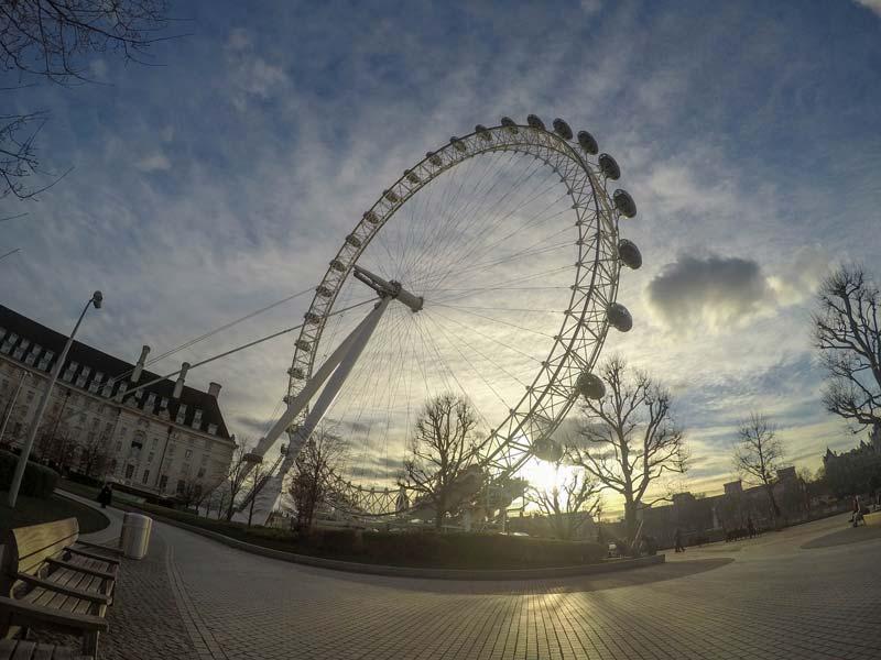 London Eye, a roda gigante de Londres