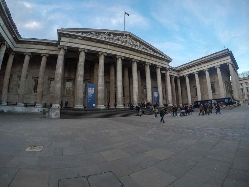 Museu britãnico em Londres