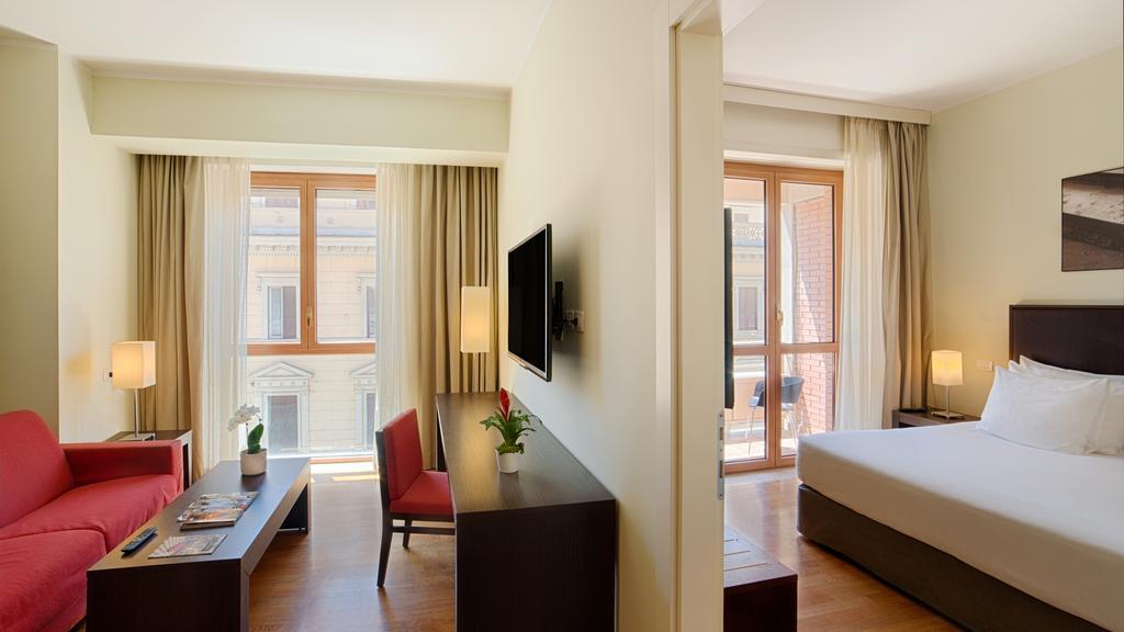 Quarto do Hotel NH Collection Roma Giustiniano