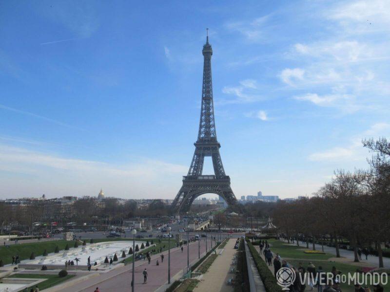 O que fazer em Paris: Torre Eiffel vista do Trocadero
