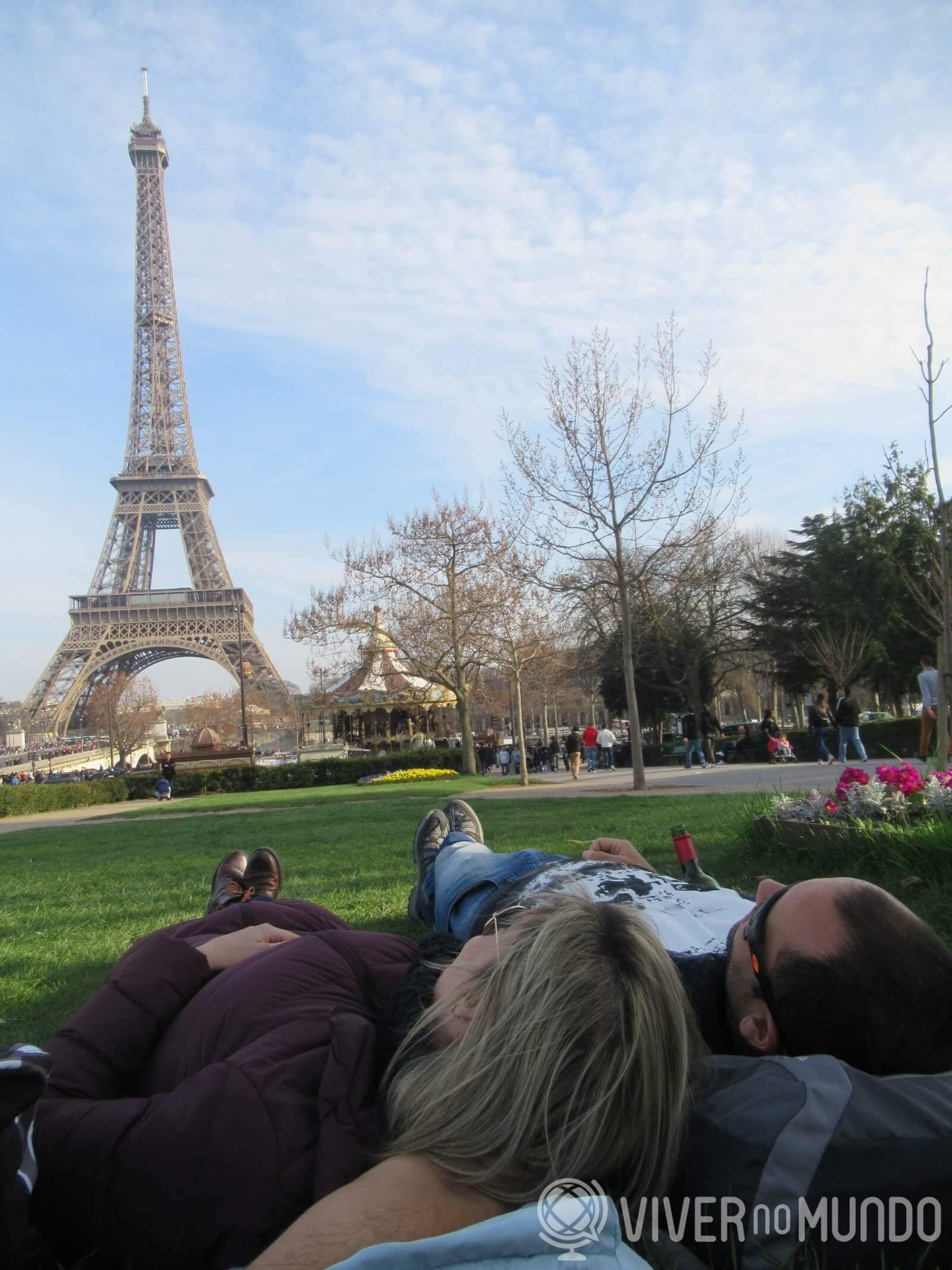 O que fazer em Paris: Vista perfeita para Torre Eiffel