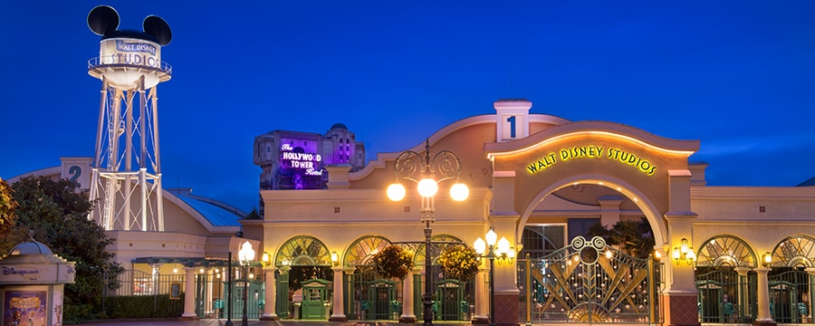 Entrada principal do Walt Disney Studios