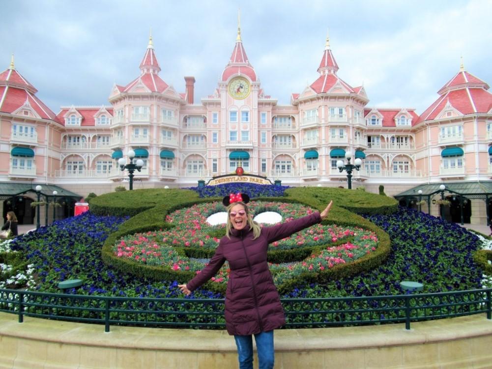 Entrada da Disneyland Paris Cris