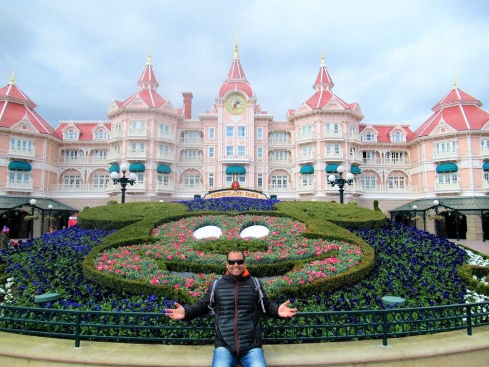 Entrada da Disneyland Paris Rogério