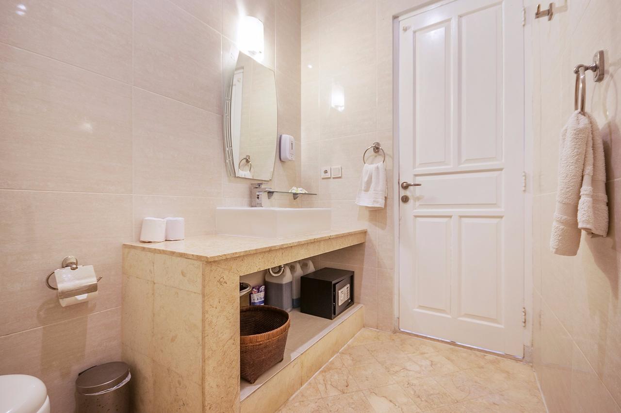 Banheiro Uluwatu Cliff Apartment foto 1
