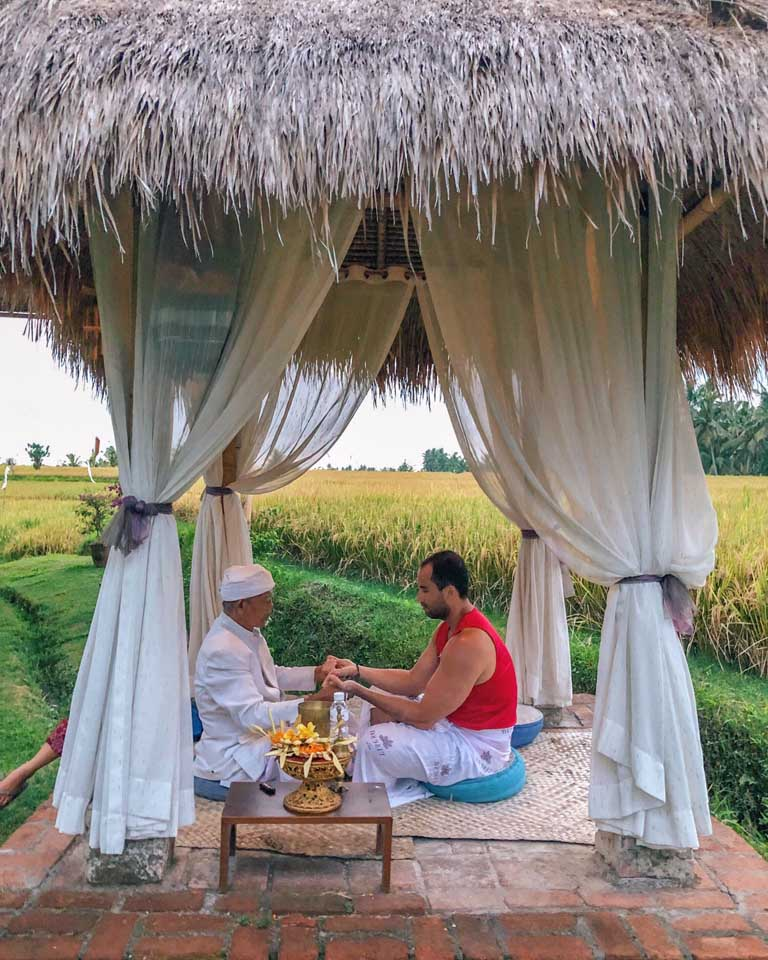 Curandeiro no Desa Visesa Ubud Resort