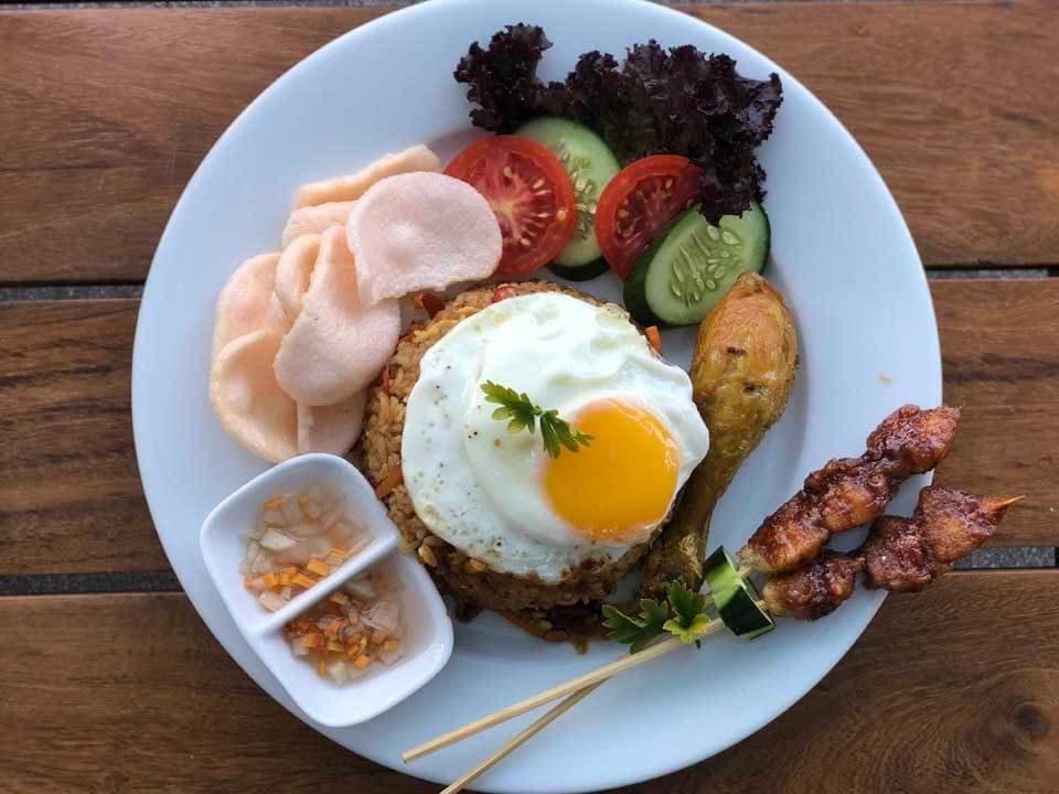 Almoço no UbudOne Villas