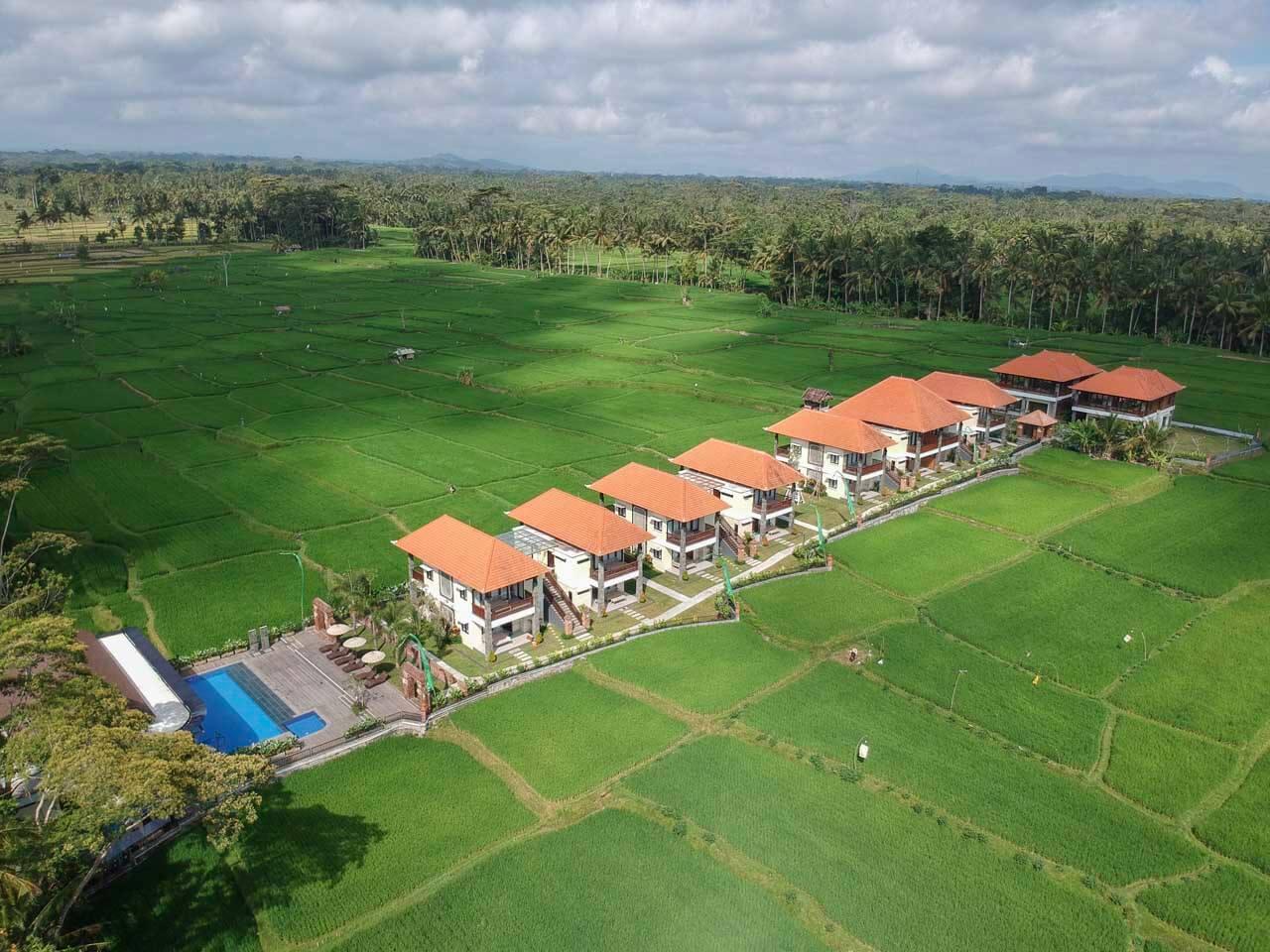 Hotel UbudOne Villas em Ubud drone