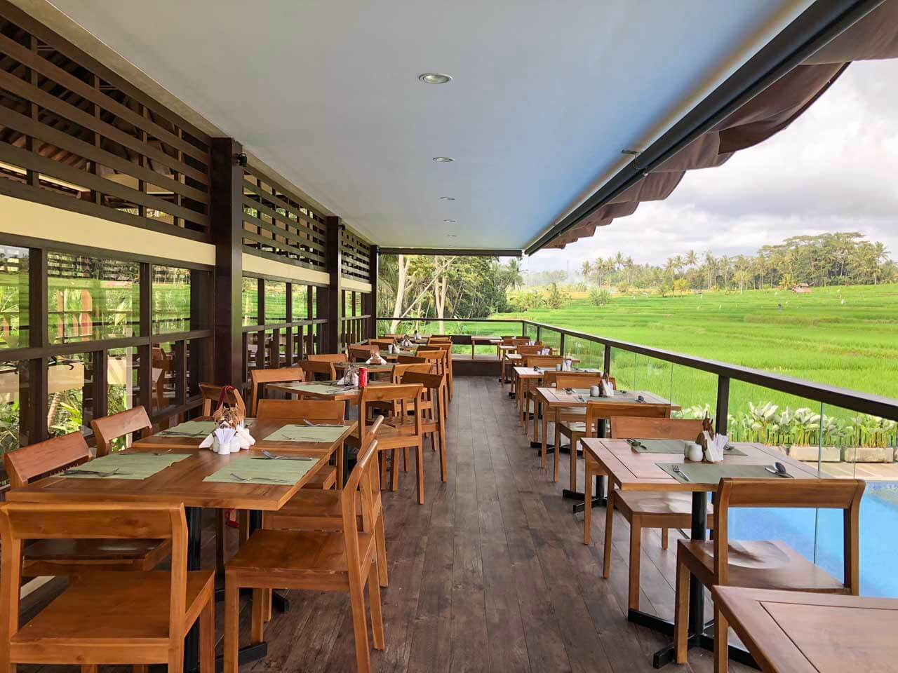 Restaurante Ayurda no UbudOne Villas