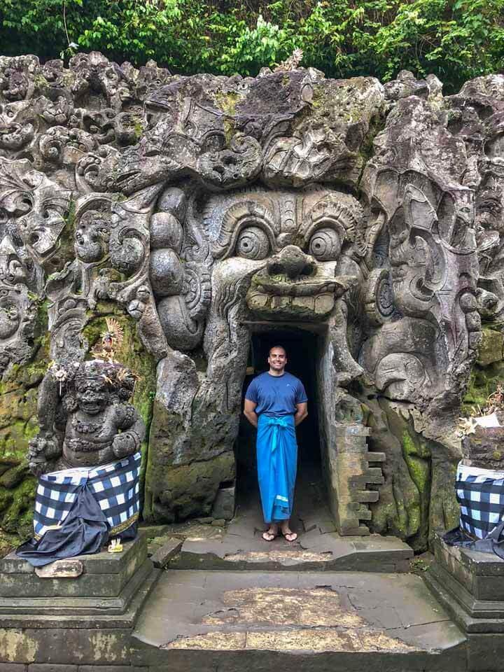 Elephant Cave em Ubud