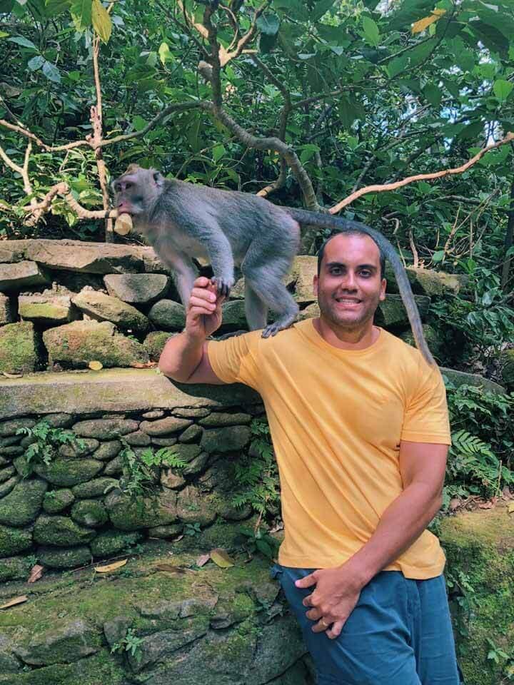 O que fazer em Ubud - Monkey Forest