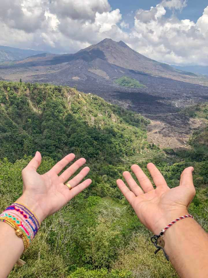 Vulcão Mount Batur em Ubud