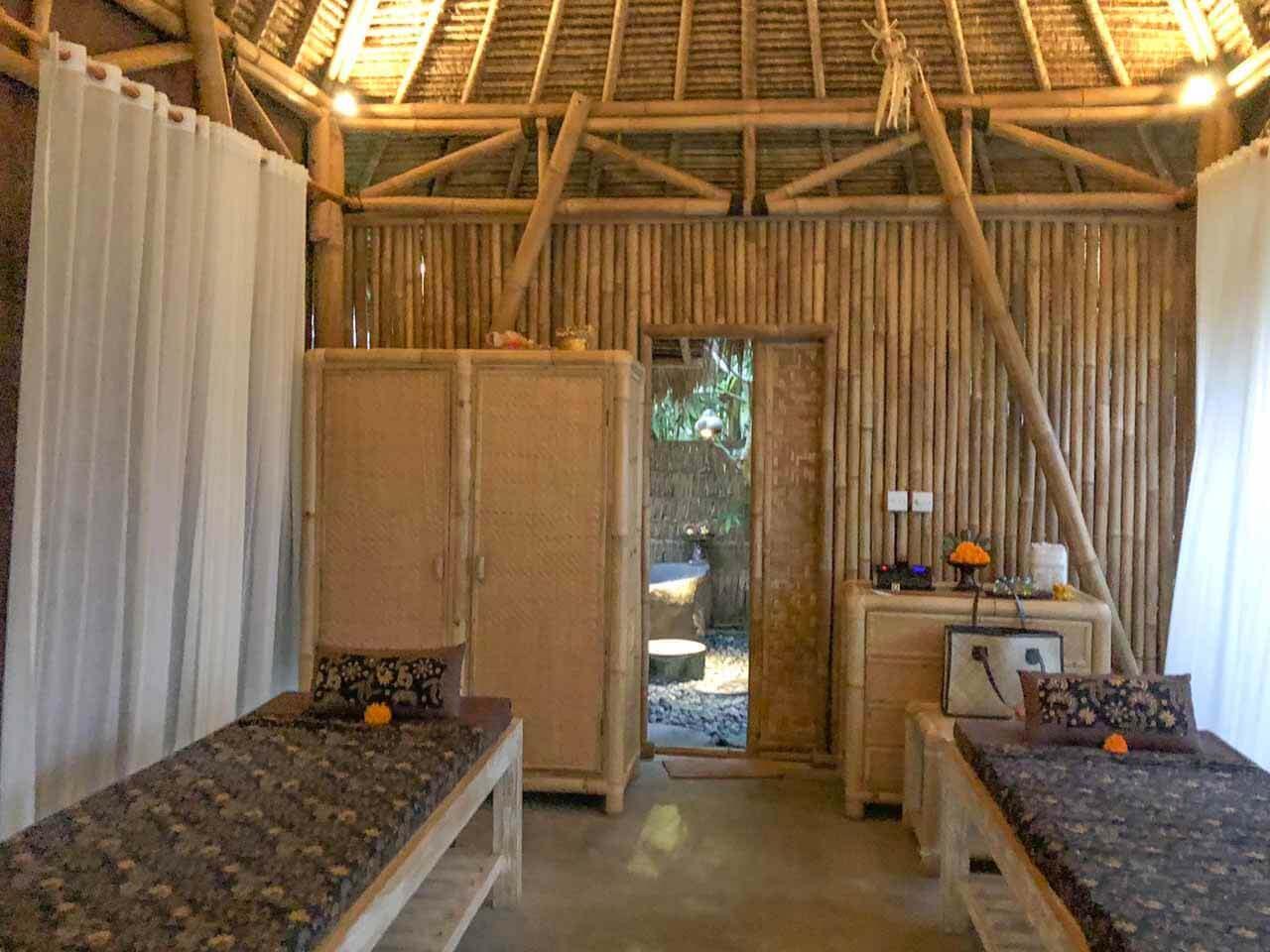 Spa de massagem em Ubud